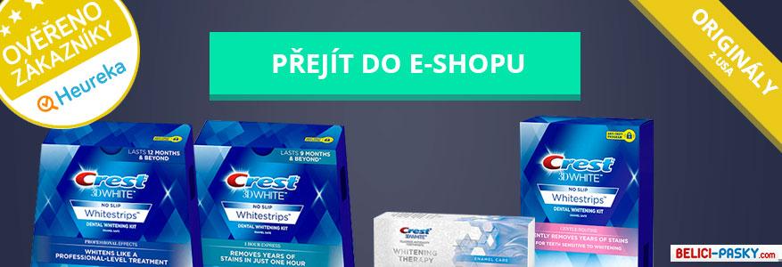 bělicí pásky e-shop