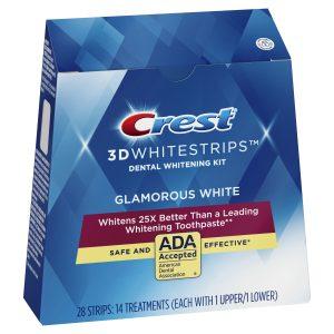 Bělící pásky Crest 3D Glamorous White
